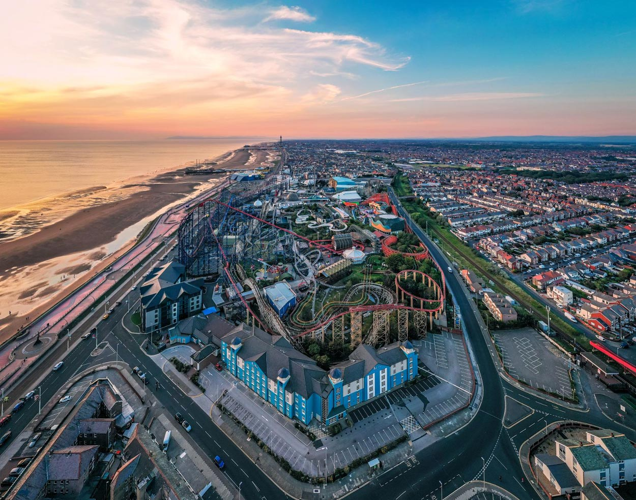 Book Blackpool Pleasure Beach